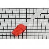Heat Resisting Food Grade BBQ Silicone Pastry Cake Bread Oil Cream Pizza Brush (Red)