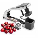 2 in 1 Cherry Olive Pitter and Slicer Core Seed Remover