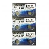 AG11 SR721SW LR721 LR58 162 GP62A 362 Button Alkaline Battery (6 Pieces)