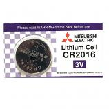 Mitsubishi CR2016 Lithium Cell Button Battery (1 Piece)