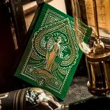 Premium Tycoon Green Edition Playing Card By THEORY11 (Green)