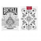 Bicycle Truth Garden Playing Card (White)