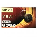 VSAI CR1216 Lithium Cell Button Battery (1 Piece)