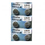 AG13 SR44SW LR44 A7a6 GP76A 357 Button Alkaline Battery (6 Pieces)