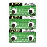 TIANQIU AG1 SR621SW LR621 364 Alkaline Button Battery (6 Pieces)