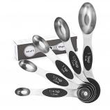 Stainless Steel Teaspoon and Tablespoon Measuring Spoons Set of 5
