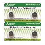 Mitsubishi LR626 AG4 SR626SW 177 GP77A 377 Button Alkaline Battery (4 Pieces)