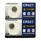 TIANQIU CR927 Lithium Cell Button Battery (2 Pieces)