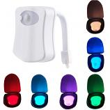 Toilet 8 Color LED Motion Activated Sensor Night Light