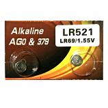 VSAI AG0 SR521SW LR521 379 Button Alkaline Battery (2 Pieces)