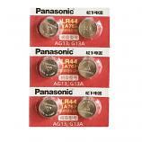 Panasonic LR44 AG13 SR44SW 357 Button Alkaline Battery (6 Pieces)