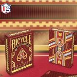 Bicycle Red Castle By Collectable Playing Card