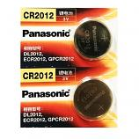 Panasonic CR2012 Lithium Cell Button Battery (2 Pieces)