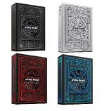 Star Wars Playing Cards Collecion Value Pack Set 4 in 1 (Red, Blue, Grey and White) By THEORY11