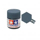 Tamiya 81318 XF-18 Medium Blue Acrylic Paint Flat 23ml